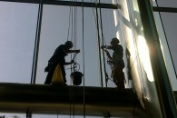 Window Cleaning Barclays Tower